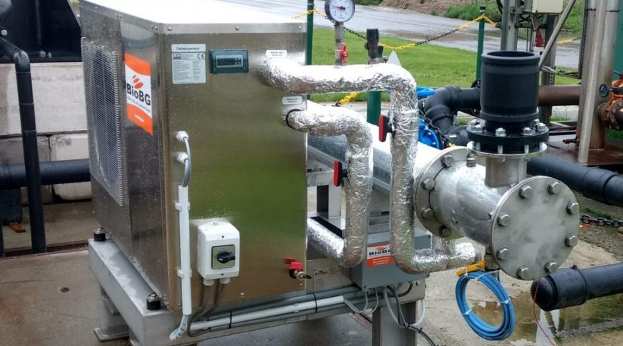 Very efficient and compact biogasdryer. With a capacity of 20-4000 Nm³/h