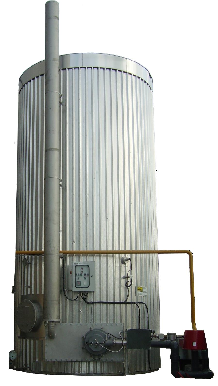 Encon Biogasbrander met ketel
