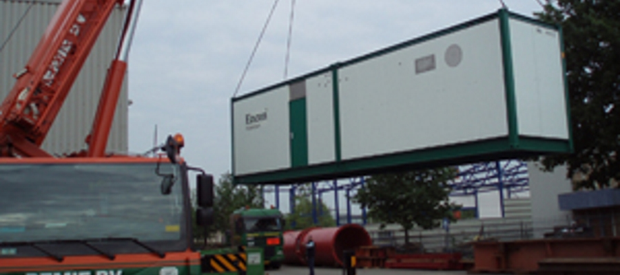Encon mestbewerking containerbouw