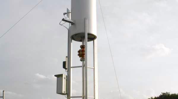 Encon automatische Biogasfakkel