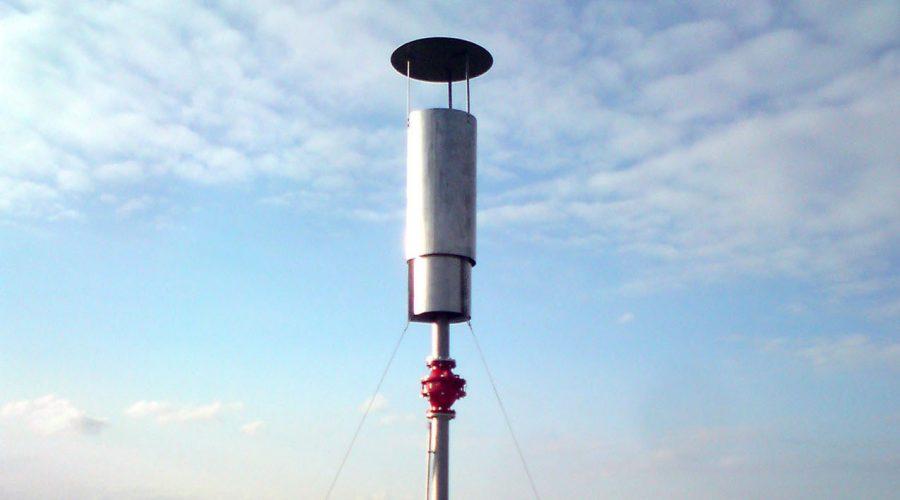 Encon biobg Biogasfakkel