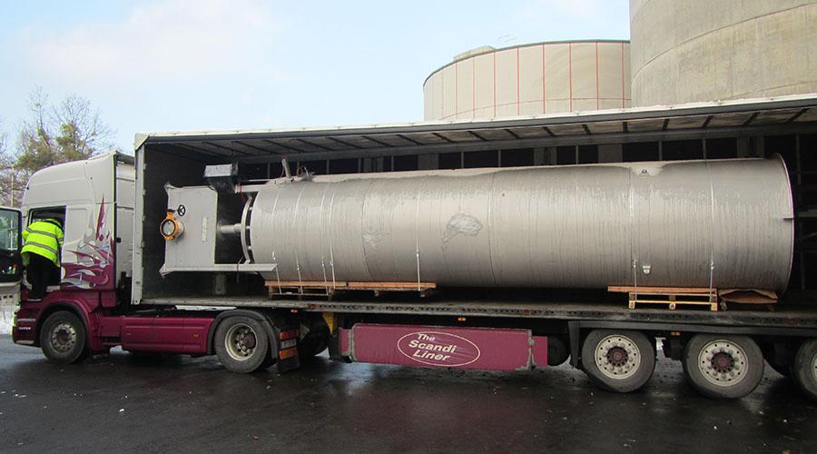 Levering van Encon Biogasfakkel 2000m3