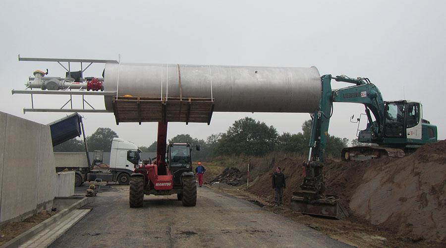 Biogasfakkel 2000 kuub
