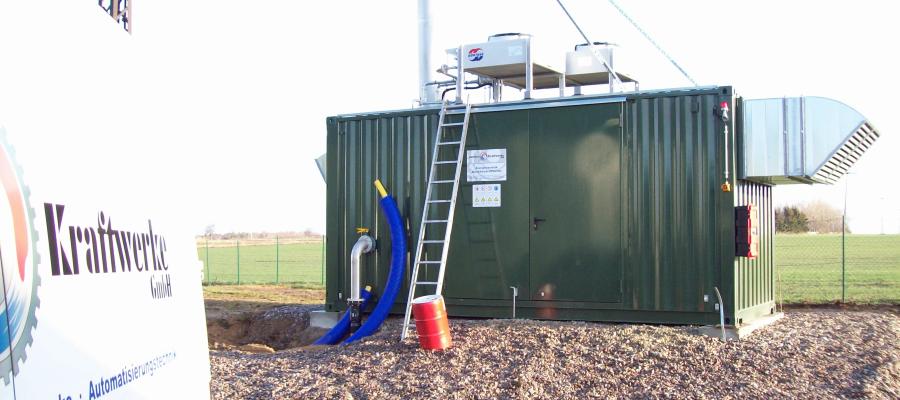 Enertec Encon Biogasmotor