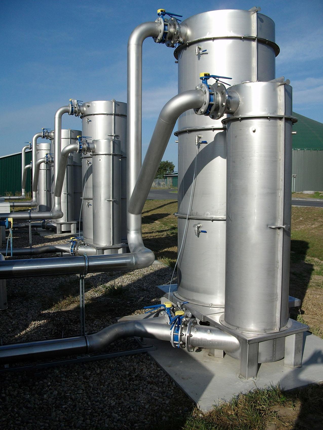 Biogas ontzwaveling - biogas desulfurization