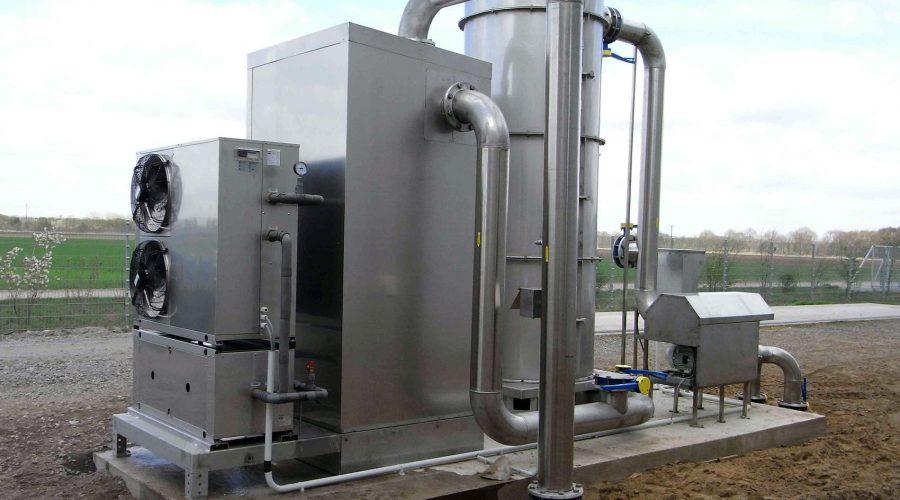 Biogasbehandeling