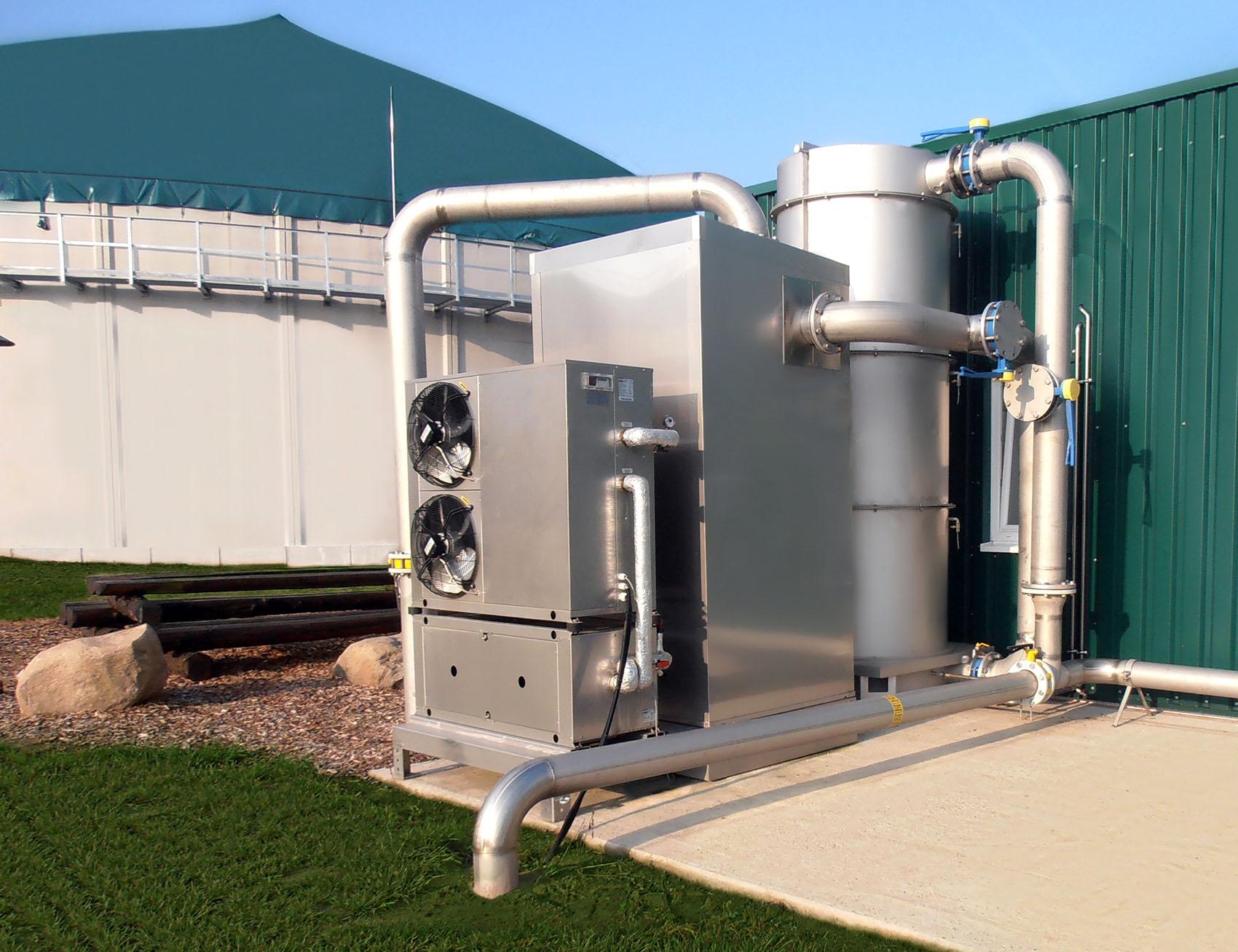 Biogasbehandeling Encon BioBG
