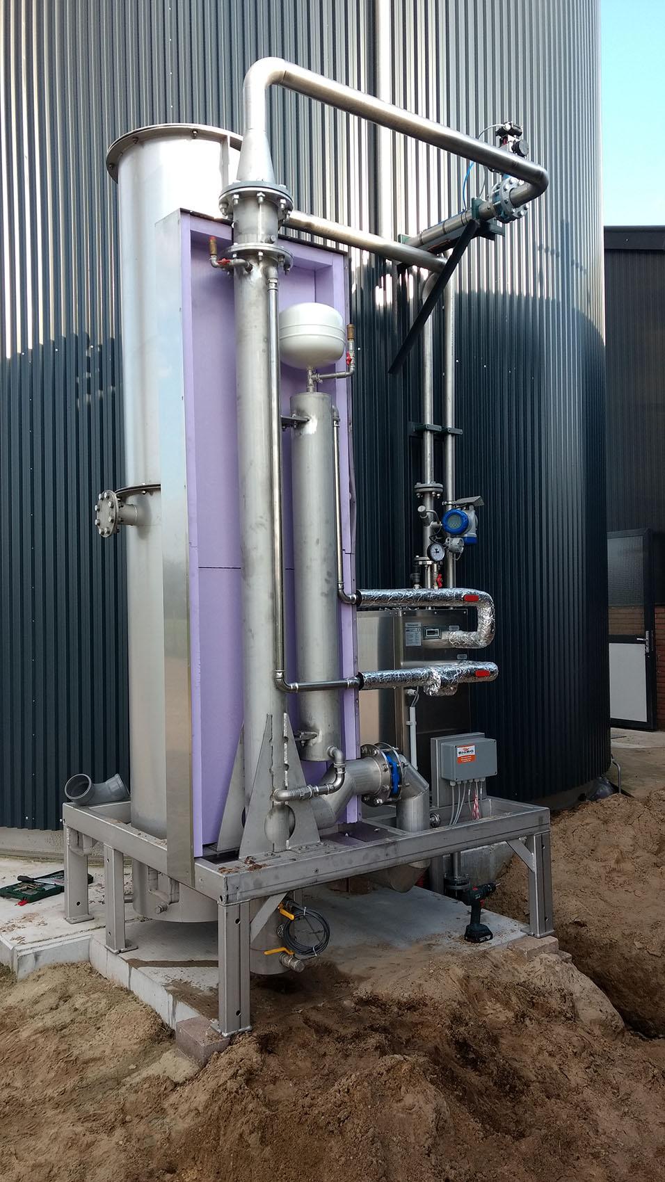 Biogasdroger biogaskoeler Encon BioBG