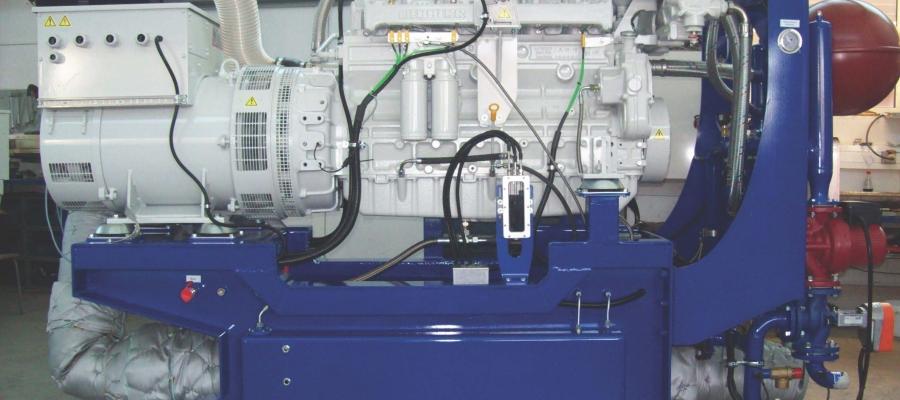 Encon Enertec biogas engine 200 kW